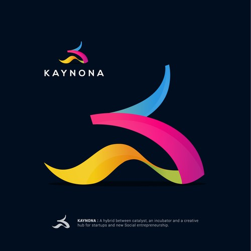 Logo concept and web site for Kaynona