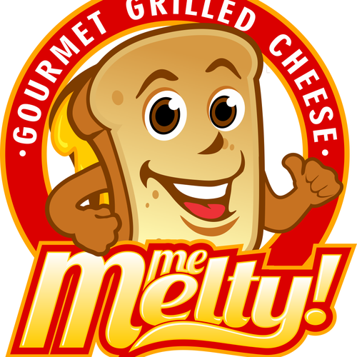 Create a winning logo for the next thing in Gourmet Grilled Cheese!