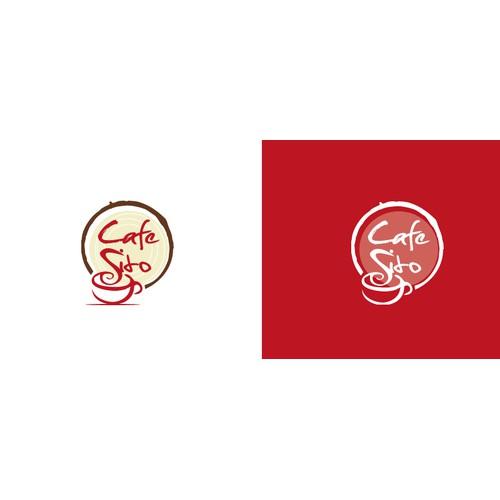 Logo design for a Cafe'.