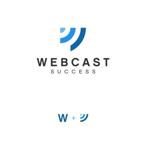 Combination logo design for webcast success