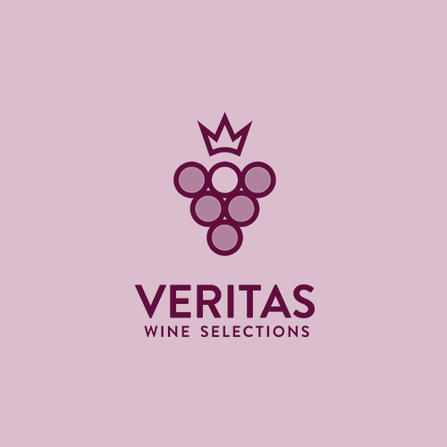 Clean attractive logo for wine salery