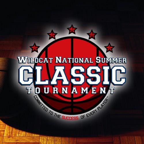 High School Basketball Tournament Logo