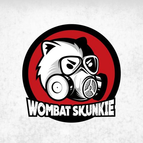 Logo concept for Wombat Skunskie
