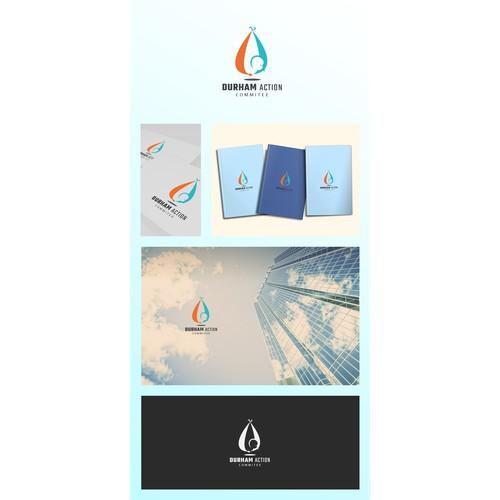 Bold logo for preborn baby protection concept