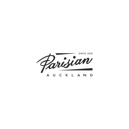 """Logo concept for """"Parisian Auckland"""""""
