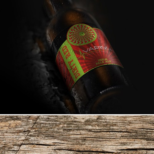 Bottle labels design for new slowenia craft brewing company