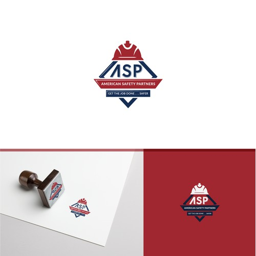 Mature and safety logo design for ASP