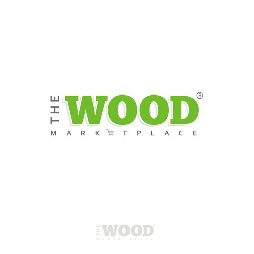 The wood marketplace logo