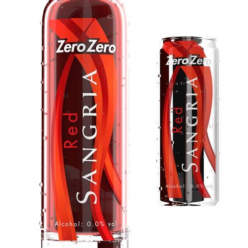 Sangria drink design.