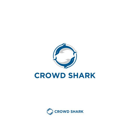 Help design the new Design Shark Tank style logo For Crowd Shark
