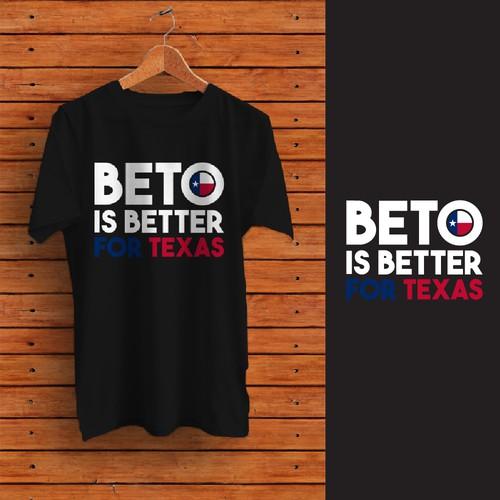 T-shirt design for BETO