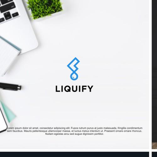 Logo concept for Liquify