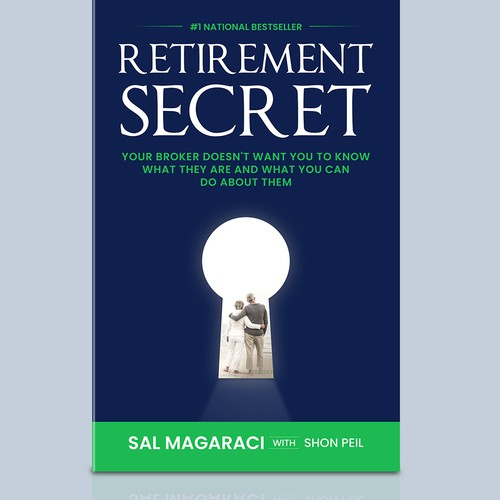 Book Cover design on Retirement Secrets