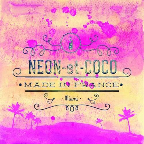 Neon et Coco Scented Candle Light