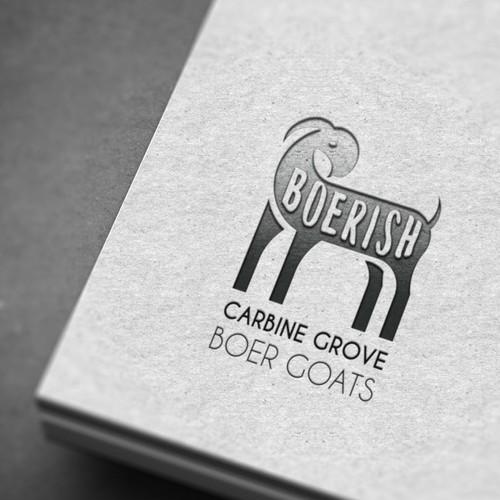 Logo for Carbine Grove Boer Goats Boerish