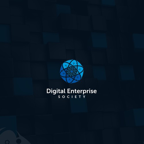Logo concept for Digital Enterprise Society
