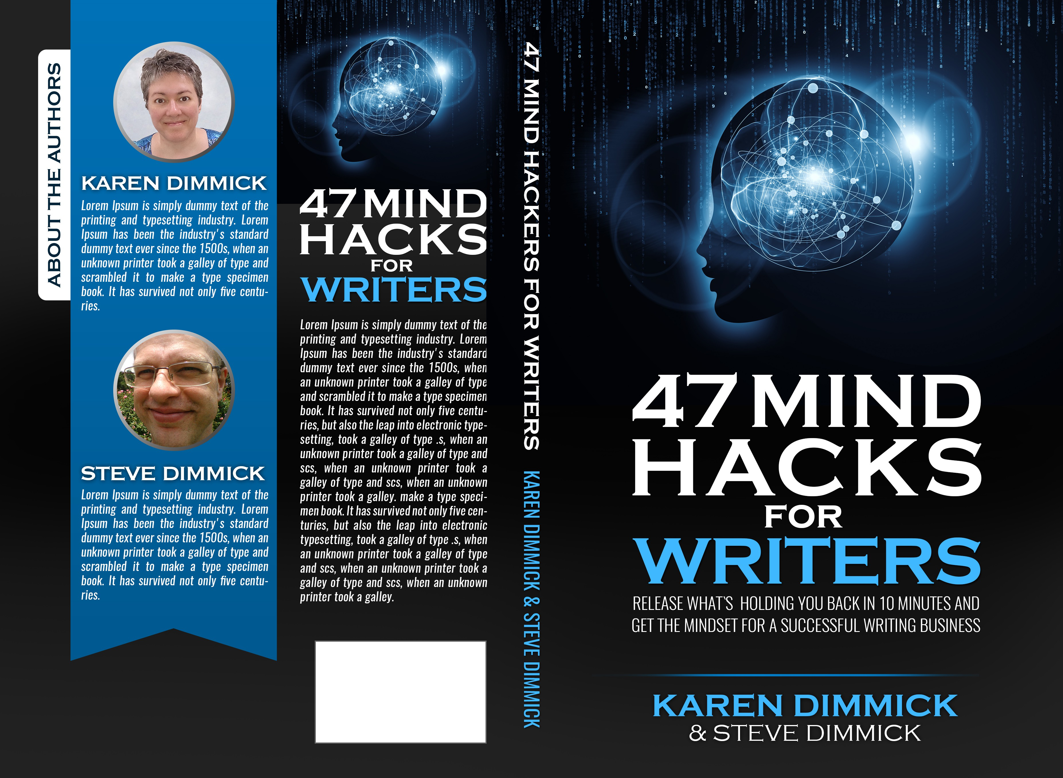 47 Mind Hacks for Writers - Book Cover