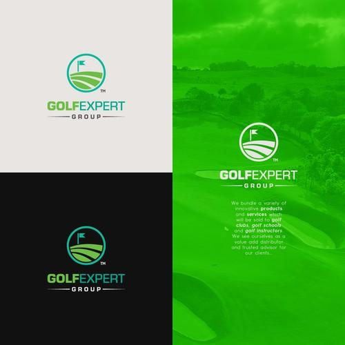 Logo concept for a Golf Company