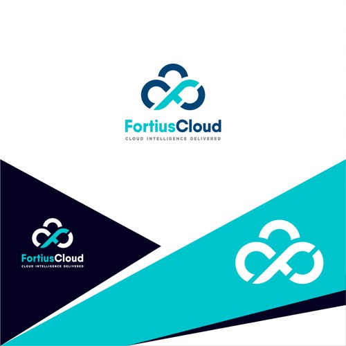 Fortius Cloud Logo Design
