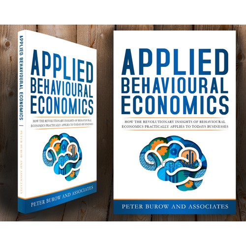 Create a cover for a book on Behavioural Economics