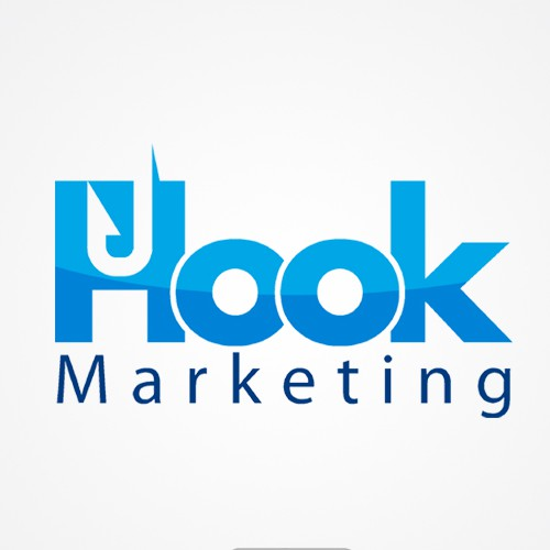 Create the first logo for Hook Marketing