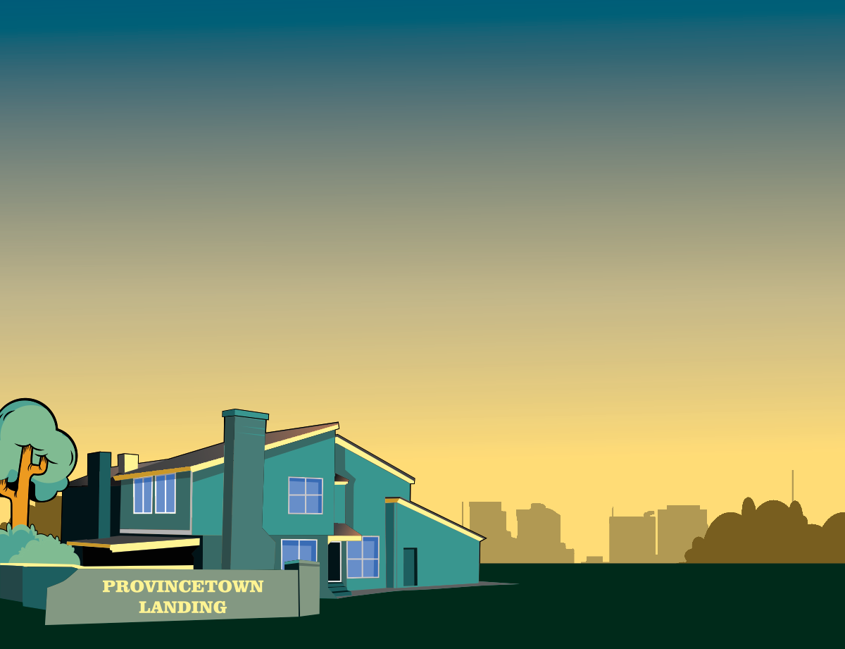 Provincetown Landing illustration