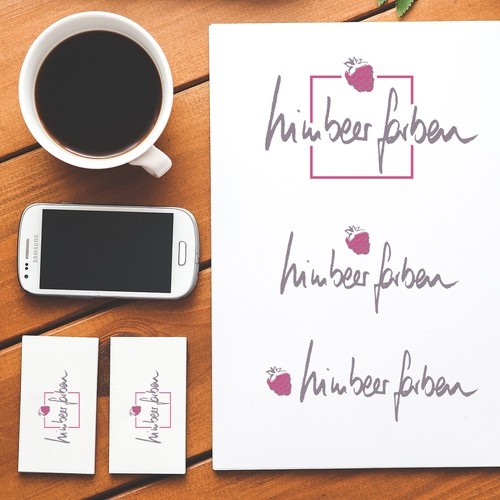 Logo Design for Himbeerfarben