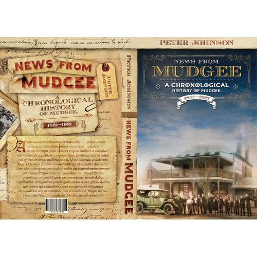 History book cover design