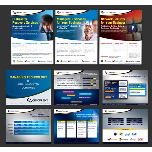Presentation & Sell Sheet Designs