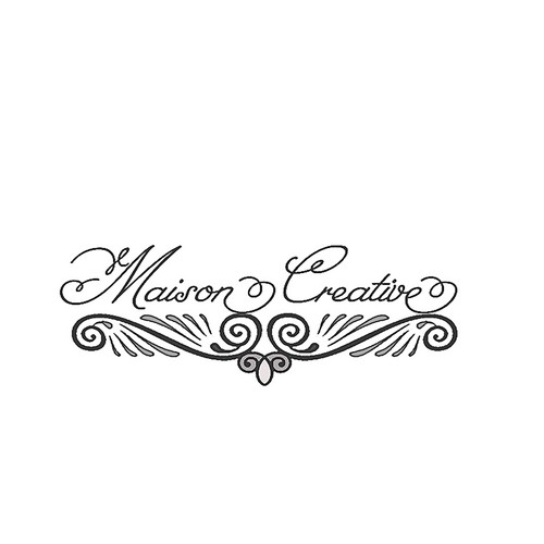 Vintage Romantic Logo for Antique Furniture Company