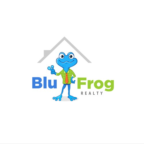 BluFrog logo character