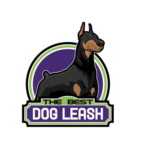 DOBERMAN DOG CARTOON CHARACTER