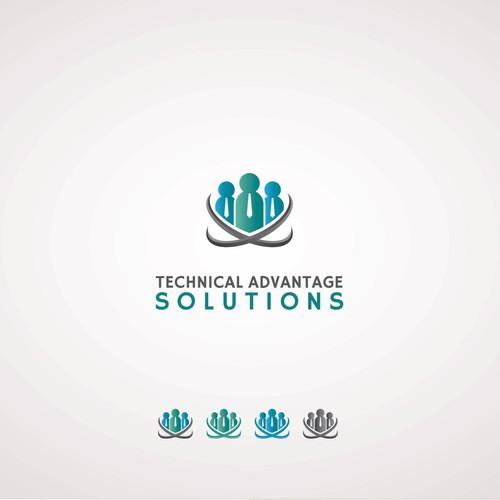 Create a brilliant and memorable logo for Technical Advantage Solutions