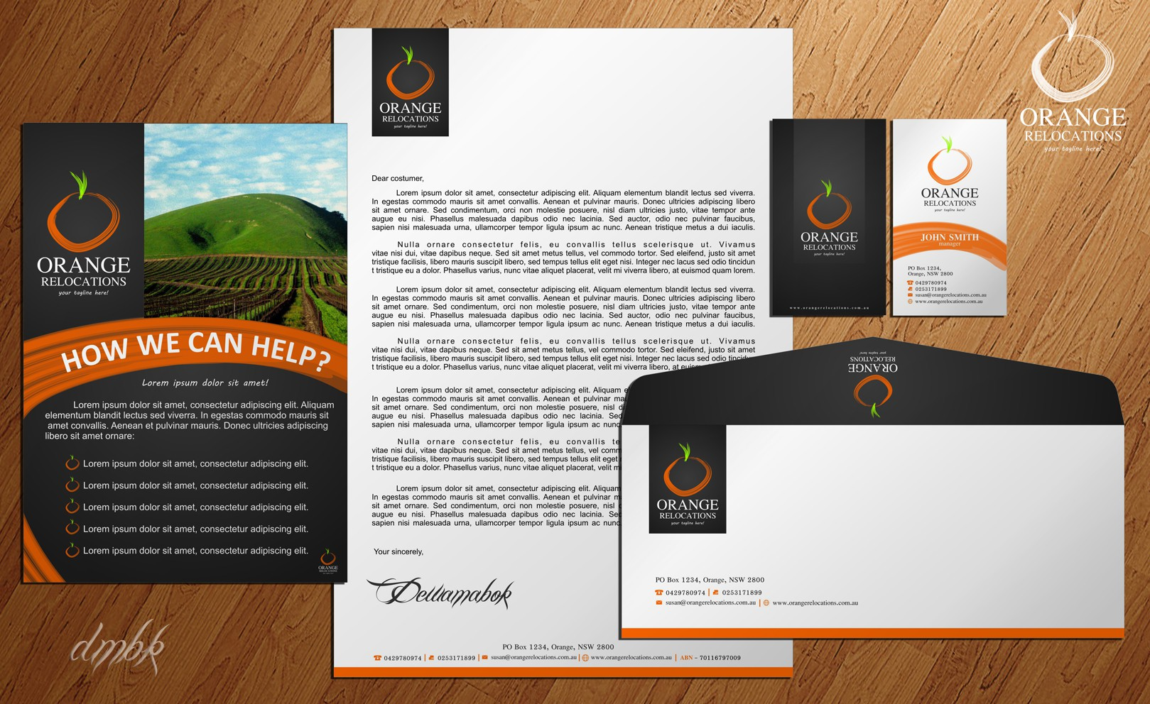 Help Orange Relocations with its first identity