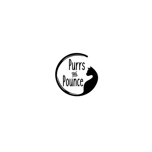 Logo Concept for Purrs and Pounce