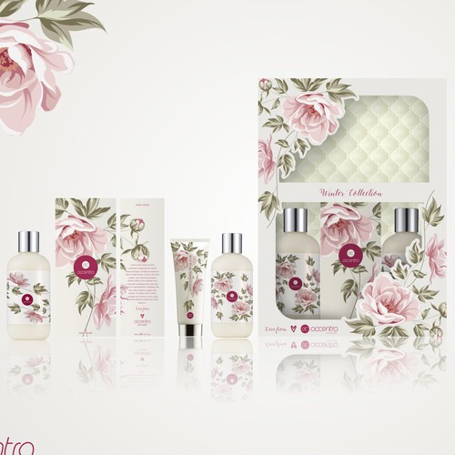 Packaging Design for Cosmetic Line
