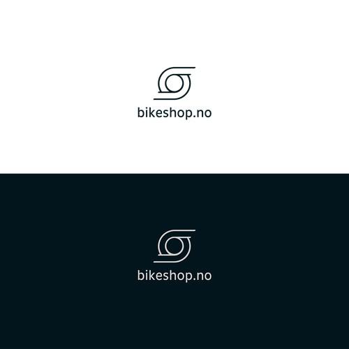 Modern logo for Norways bikeshop