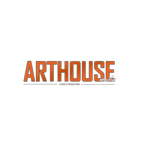 Create an elegant and modern look for Arthouse Media.