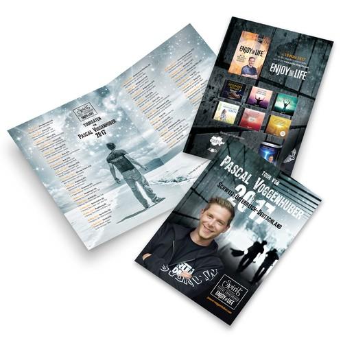 Brochure for Pascal Voggenhuber 2017 Tour