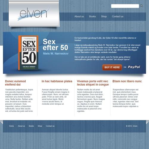 website design for Elven