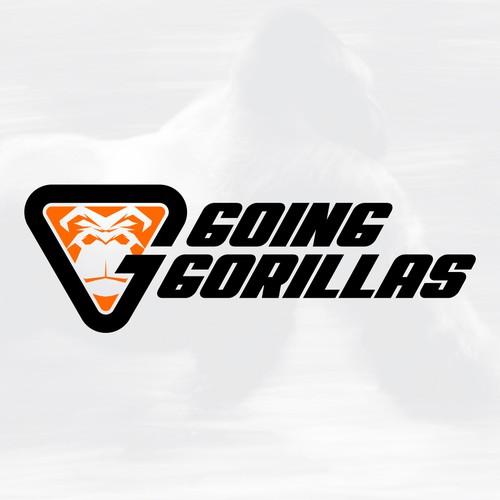 Sport logo with iconic gorilla image