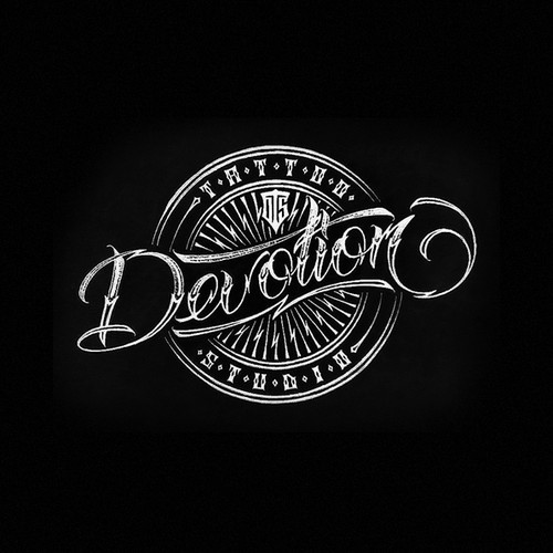 Logo for tattoo studio