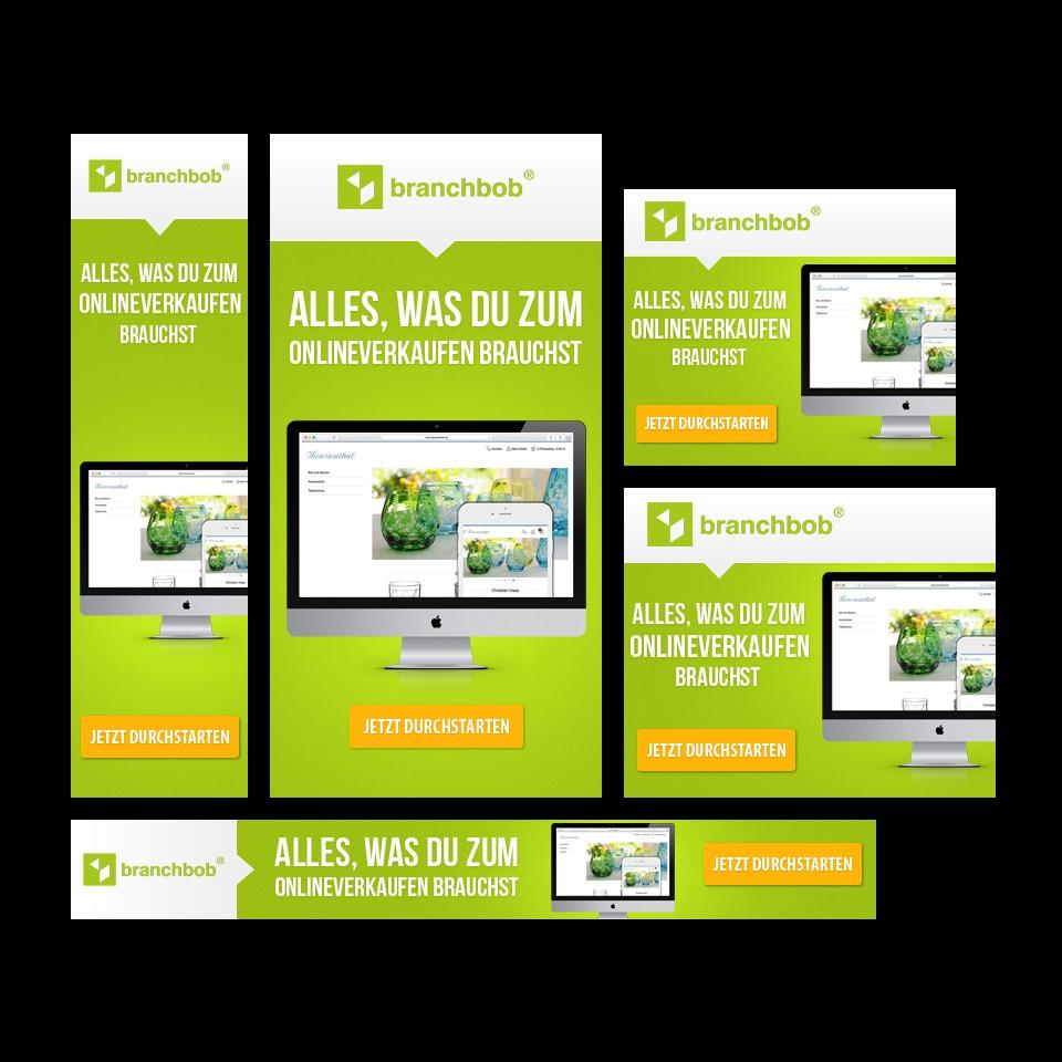 Banner-Set für einen E-Commerce bzw. OnlineShop-Anbieter