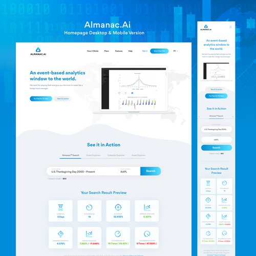 Almanac.Ai - An event-based analytics window to the world