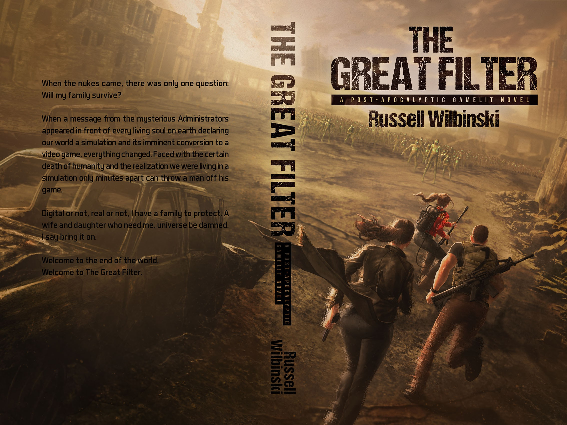 Post Apocalyptic Fantasy Book Cover