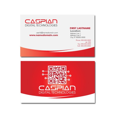 Caspian Digital Technologies needs a new stationery