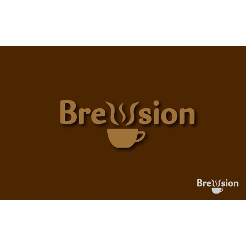 Create an Emotion-Evoking Logo For Our Coffee Company Brewsion