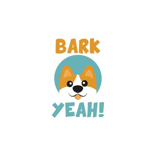 Logo design for a dog brand