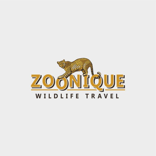 Design a Wild Logo for a Wildlife Travel Company