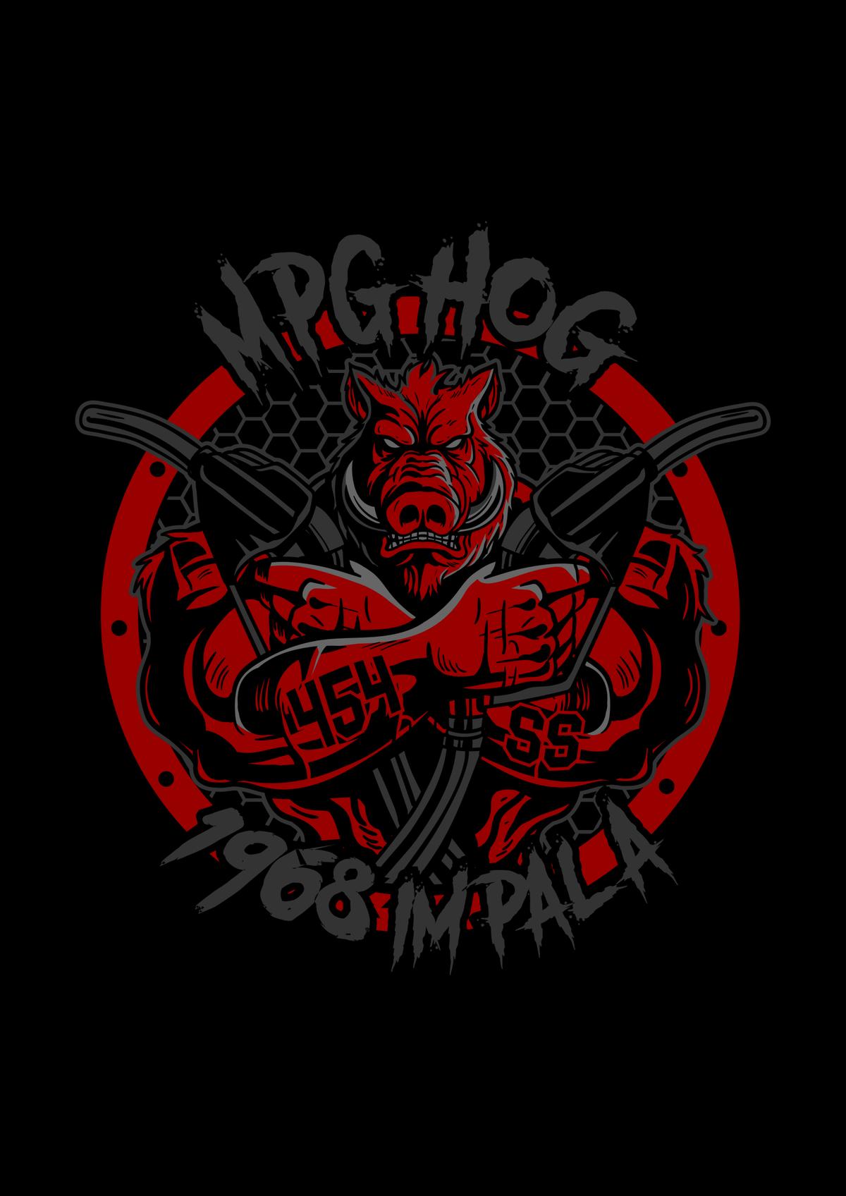 MPG HOG Tattoo and car hood decal